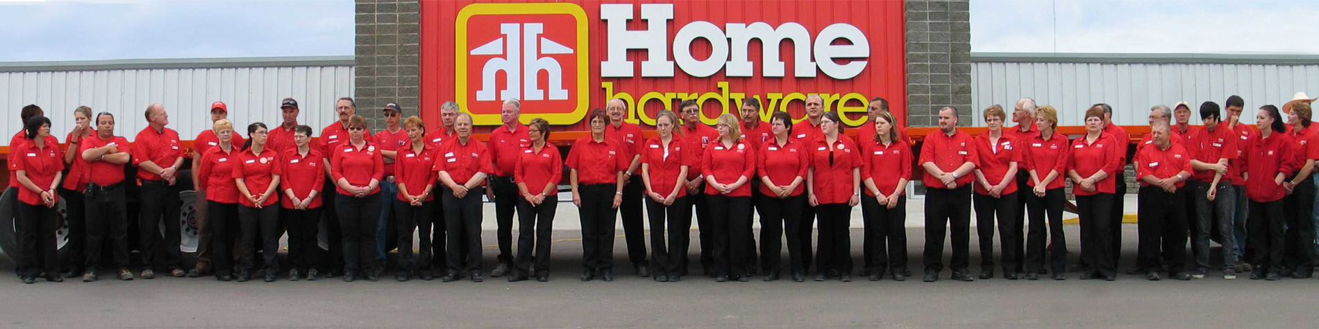 Group of Home Hardware Employees